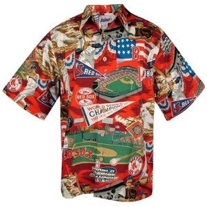 0d82c076 reyn spooner Shirts - Reyn Spooner Red Sox Hawaiian Shirt